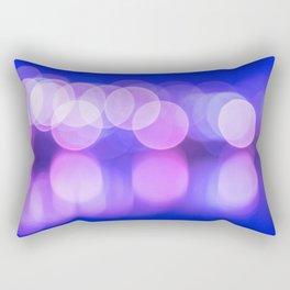 Bokeh Reflections Rectangular Pillow