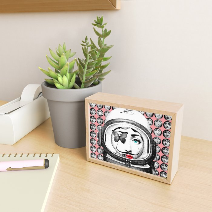 Dadaasetti Mon Amour Framed Mini Art Print