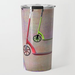 stillife with scooters Travel Mug