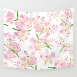 Peruvian Lilies, Large Wall Tapestry