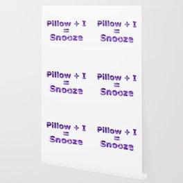 Pillow Plus I Equals Snooze Wallpaper