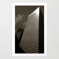 tetris Art Prints featuring Tetris by Mark Giarrusso