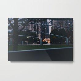 Millenium Lights Metal Print