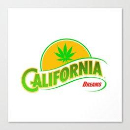 California Hemp Dreams Canvas Print