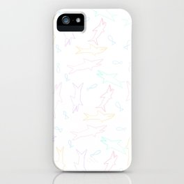 sharks!! iPhone Case