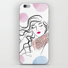 Fresh wind iPhone & iPod Skin