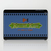 castlevania iPad Cases featuring Castlevania II - What a Horrible Night to Have a Curse by Aaron Campbell