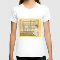 window T-shirts featuring Window by CHAR ODEN
