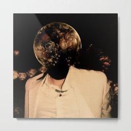 Flowers Pit | Baekhyun Metal Print