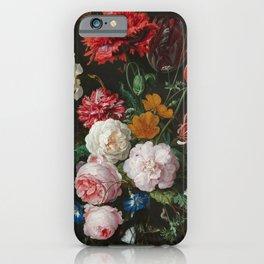 Still Life with Flowers by Jan Davidsz. de Heem iPhone Case