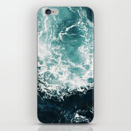 Sea waves II iPhone Skin