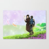 korrasami Canvas Prints featuring Korrasami by JoGoNeXX