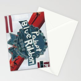 Pabst Blue Ribbon Stationery Cards
