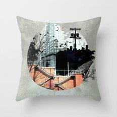 Fractal Disjunction Throw Pillow