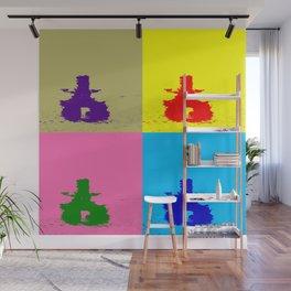 INUKSHUK - Meaningful Messenger Color Block Wall Mural