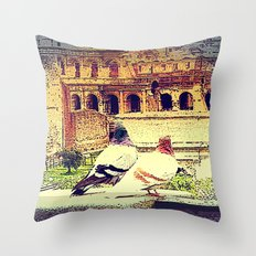 Romantic Rome Throw Pillow