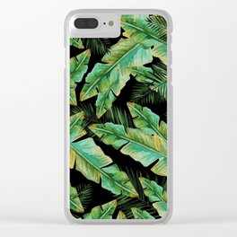 Lost In The Palms Clear iPhone Case