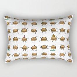 Hooray! Cheeseburgers! Rectangular Pillow
