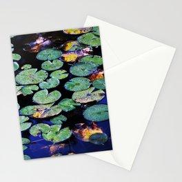 paramecium pond Stationery Cards