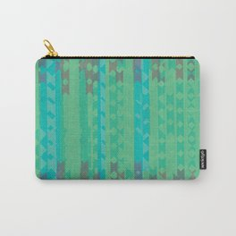 Summertime Green Carry-All Pouch