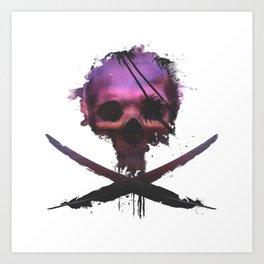 Purple Death Art Print