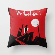 Das Kabinett Des Dr Caligari Throw Pillow