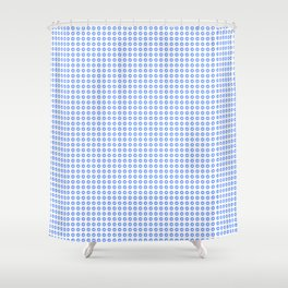 """Likes"" pattern Shower Curtain"