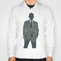 skyfall Hoodies featuring Skyfall - James Bond: The Old Fashioned Way by Jon Naylor