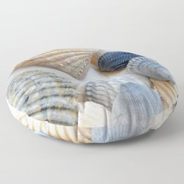 Just Sea Shells Floor Pillow