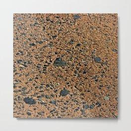 Stone Wall Texture #20a Metal Print