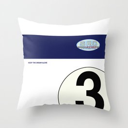 SRC Preparations RA272 No.3 Carter Throw Pillow
