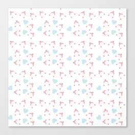 pink hats Canvas Print