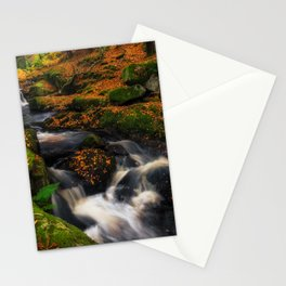 Cloghleagh River in Wicklow Mountains - Ireland (RR249) Stationery Cards
