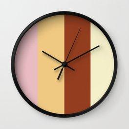 Color Ensemble No. 2 Wall Clock