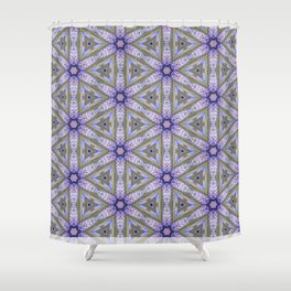Purps Shower Curtain