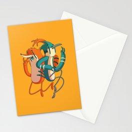 Mordecai & Rigby // Regular Show Stationery Cards