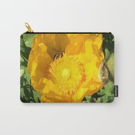 Poppy Bee Carry-All Pouch