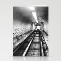 subway Stationery Cards featuring Subway by Leah Galant