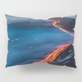 WHEN THE BEACH TURNS RED Pillow Sham
