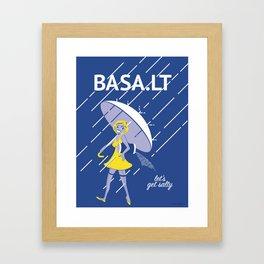 Let's Get Salty Framed Art Print
