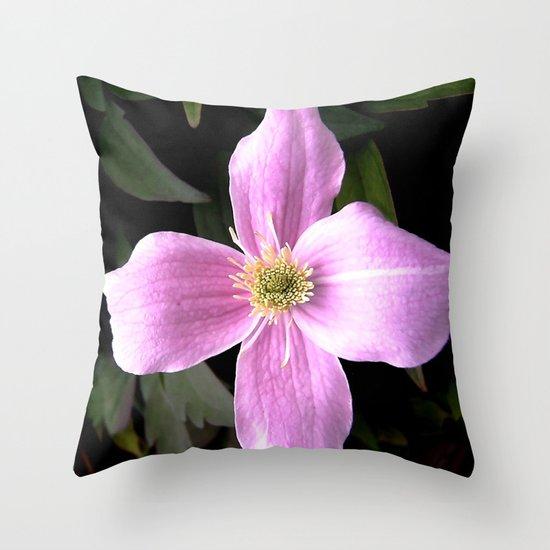 flora IX Throw Pillow