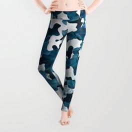 Surfing Camouflage #3 Leggings