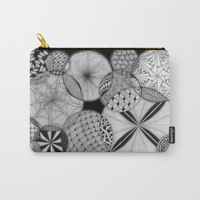 Zentangle®-Inspired Art - ZIA 53 Carry-All Pouch