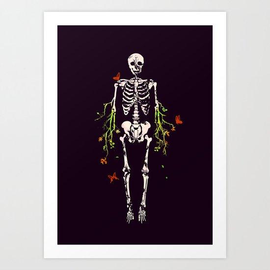 Dead is dead Art Print