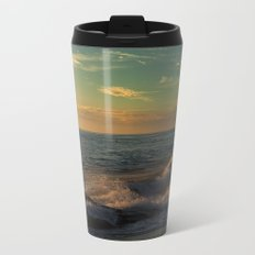 Golden Afternoon Metal Travel Mug