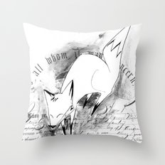 minima - deco fox Throw Pillow