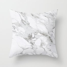 Carrera Marble Throw Pillow