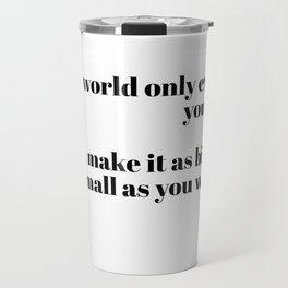 Fitzgerald quote Travel Mug