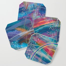 dreaming in color Coaster