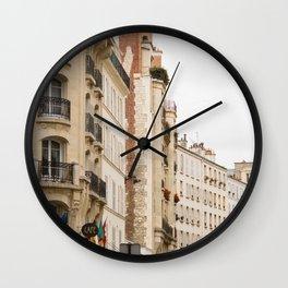 7th arrondissement Wall Clock